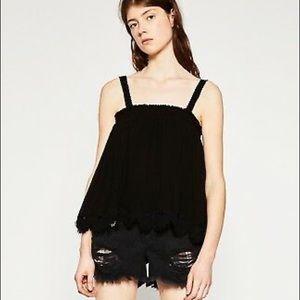 Zara Crochet Camisole